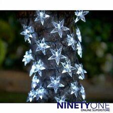 GIARDINO solare LED Stelle Stringa Luci 40 STELLE filo per Gazebo Patio treetrunk