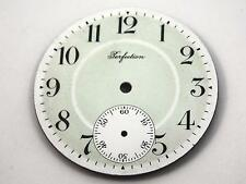 Mint Green & White Watch Dial for Pocket Watches Vintage 42.48mm Perfection NOS