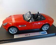 BMW Z8, Rojo, Welly 1:18