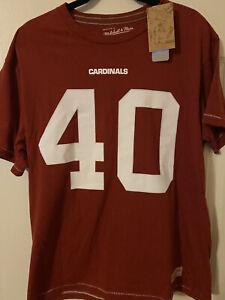 "PAT TILLMAN #40 AZ Cardinals NFL Authentic ""Mitchell & Ness"" Jersey Tee XL NEW"