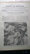1927 20 Rom Bebauungsplan Stadtzentrum