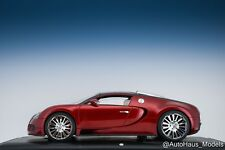 MR Collection 1/18 Bugatti Veyron Grand Sport Maroon With Carbon