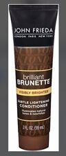 John Frieda Brilliant Brunette Go Visibly Brighter Lightening Conditioner 2.0 Oz
