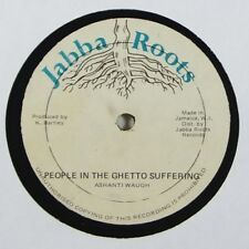 "Ashanti Waugh ""People in the Ghetto Suffering"" Reggae 12"" Jabba Roots mp3"