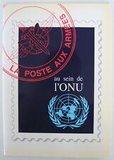 █ La Poste aux Armées au sein de l'ONU 12 feuillets BPM 2000ex Bureaux Postaux █