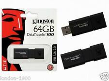 64 Gig Kingston Data Traveler 64GB USB 3.0 2.0 Flash Drive Memory stick 64 GB