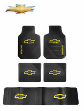 5 Pc Chevy Factory Floor Mats Front/Rear/Runner ( Fits All Chevy SUVs )