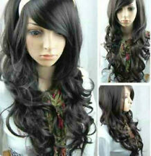 USJF105  charming Curly black LONG cosplay full wig wigs for women