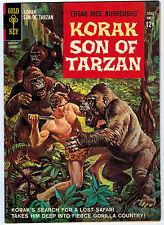 KORAK SON OF TARZAN #1 7.0 OFF-WHITE TO WHITE PAGES SILVER AGE