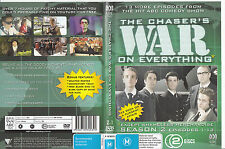 The Chasers War On Everything:Season 2-2006/09-TV Series Australia-13 Epis-2 DVD