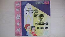 RCA Victor Little Nipper Junior Records FAVORITE HYMNS FOR CHILDREN 45rpm 50s