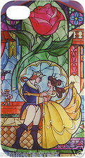 """BEAUTY AND THE BEAST, """"DANCING, ROSE, STAINED GLASS,"""" CASE FOR IPHONE 4/4S"""