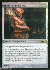 MTG - M14 - Haunted Plate Mail - Foil - NM