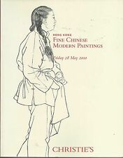 CHRISTIE'S HK CHINESE MODERN ART Baishi Beihong Daqian Fengmian Catalog 2010
