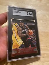 Lebron James SGC 9.5 MINT+ Panini #114 Collector Card INVEST AGAINST INFLATION!