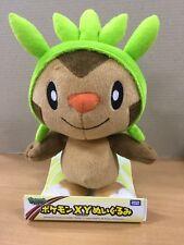 "Takaratomy New Pokemon N-02 X and Y Chespin/Harimaron 11"" Plush Doll Figure"