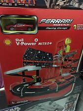 Burago 1/43 Shell V Power Ferrari Racing Garage