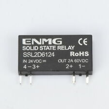 5 PCS Solid State Relay SSL2D6124 4 Pins DC-AC PCB SSR 24VDC In 60VDC 2A Out