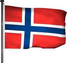 Fahne Norwegen - Hissfahne 100x150cm Premium Qualität