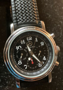 Vtg Mercedes Benz Tachymeter Watch Automatic RacingCar Amg? Graham? M8-1950