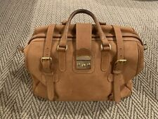 Classic Mulholland Safari Bag Lariat Leather