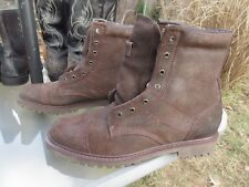 "Rock Zone 8"" Insulated Leather Work Boots / Soft Toe / Us Men 13 / Deadstock"