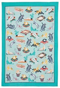 "Ulster Weavers, ""Kitty Cats"", Pure cotton printed tea towel."