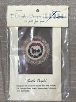 Gentle People Counted Cross Stitch Kit Douglas Designs Horse Drawn Sleigh NEW