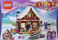 LEGO Friends 41323 Chalet im Wintersportort Andrea Amy Husky Schneemobil Ski NEU