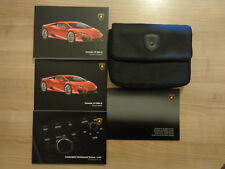 Lamborghini Huracan LP 580-2 Owners Handbook/Manual and Pack