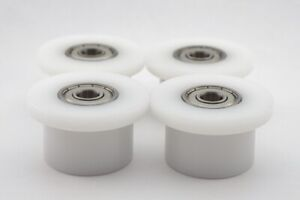 Total Gym Rollers / Wheels Qty. 4 for Models 1000, 1100, 1400, 1500, 1600, 1700