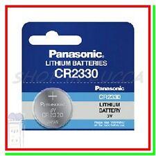 BATTERIA PILA PANASONIC CR2330 BR2330 ECR2330 DL2330 L2330 BD2330