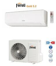 CLIMATIZZATORE FERROLI GOLD 3.2 R32 INVERTER 9000 12000 18000 22000 9 12 18 22