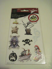 Scrapbooking Stickers Crafts Disney Nightmare Before Christmas Glow Characters 2