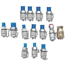 1x14pcs Hydraulic Pressure Test Point Testing Coupling Adapter Set For Hydrauli