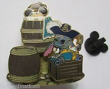 Disney Pirates of the Caribbean Disney Characters Minnie Mouse and Stitch Pin