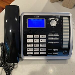 RCA 2-LINE ViSYS 25214 Corded Business Telephone Speaker Conference Phone Office