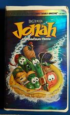 BIG IDEA'S Jonah A VeggieTales Movie VHS 2002 G RATED 83 MINUTES