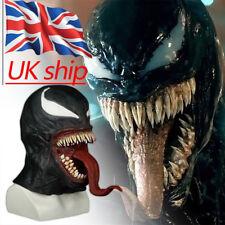 Cosplay The Venom Spiderman Mask New Edward Brock Superhero Venom Latex Masks