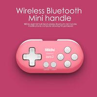 8 BitDo ZERO 2 Wireless Bluetooth Mini Joystick Handheld Game Controller for NS