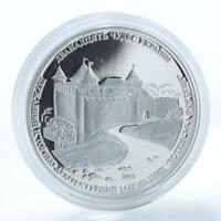 Cook Islands $5 12 wonders Khotyn Fortress 1 Oz Silver Coin 2009