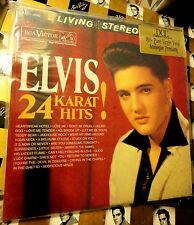 ♫ ELVIS PRESLEY ♫ 24 KARAT HITS!  DCC Limited Edition Low # SEALED 2 LP Set RARE