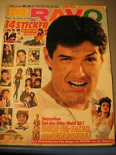 Bravo von 1986-3.Judendzeitschrift Musik,Poster,Fanartikel-Madonna u.a