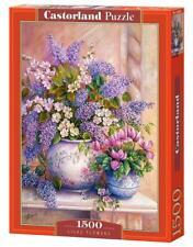 "Castorland Puzzle 1500 Pieces - Lilac Flowers - 27""x18.5"" Sealed box C-151653"