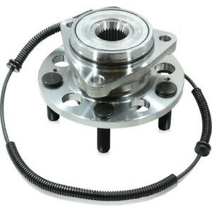 FRONT WHEEL BEARING HUB for SSANGYONG REXTON 4WD Y200 NO FWH, Round Plug ABS