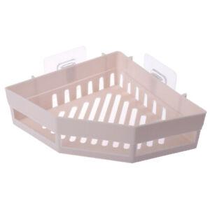 Triangular Shower Caddy Shelf Bathroom Corner Bath Rack Storage Holder  V W  AJ