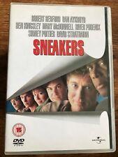 Robert Redford Dan Aykroyd River Phoenix SNEAKERS ~ 1991 Crime Caper UK DVD