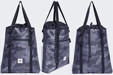$70 Adidas Cinch Tote Bag Ripstop Nylon Grey Camo ED8808