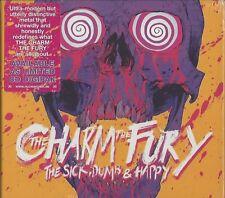 THE CHARM THE FURY / THE SICK, DUMB & HAPPY * NEW DIGIPAK CD 2017 * NEU *