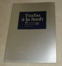 Saab Turbo Technical Brochure 1980 - 900 Turbo